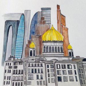 Faboola, le tavole originali (Mosca)